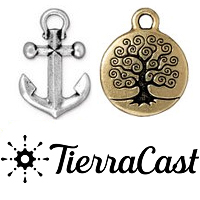 TierraCast Pewter Charms