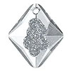 Swarovski Growing Crystal Rhombus Pendants 6926