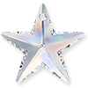 Swarovski Crystal Star Pendants 6714
