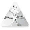 Swarovski Crystal Triangle Pendants 6628