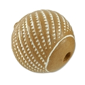 Terra Cotta Bead 17mm Round (5-Pcs)