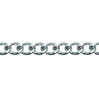 Curb Chain 2.5 mm Surgical Stainless Steel (Priced per Foot)