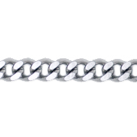 Curb Chain 3mm Surgical Stainless Steel (Priced per Foot)