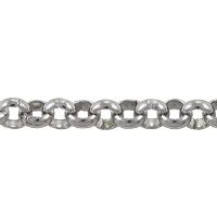 Rolo Chain 4mm Surgical Stainless Steel (Priced per Foot)