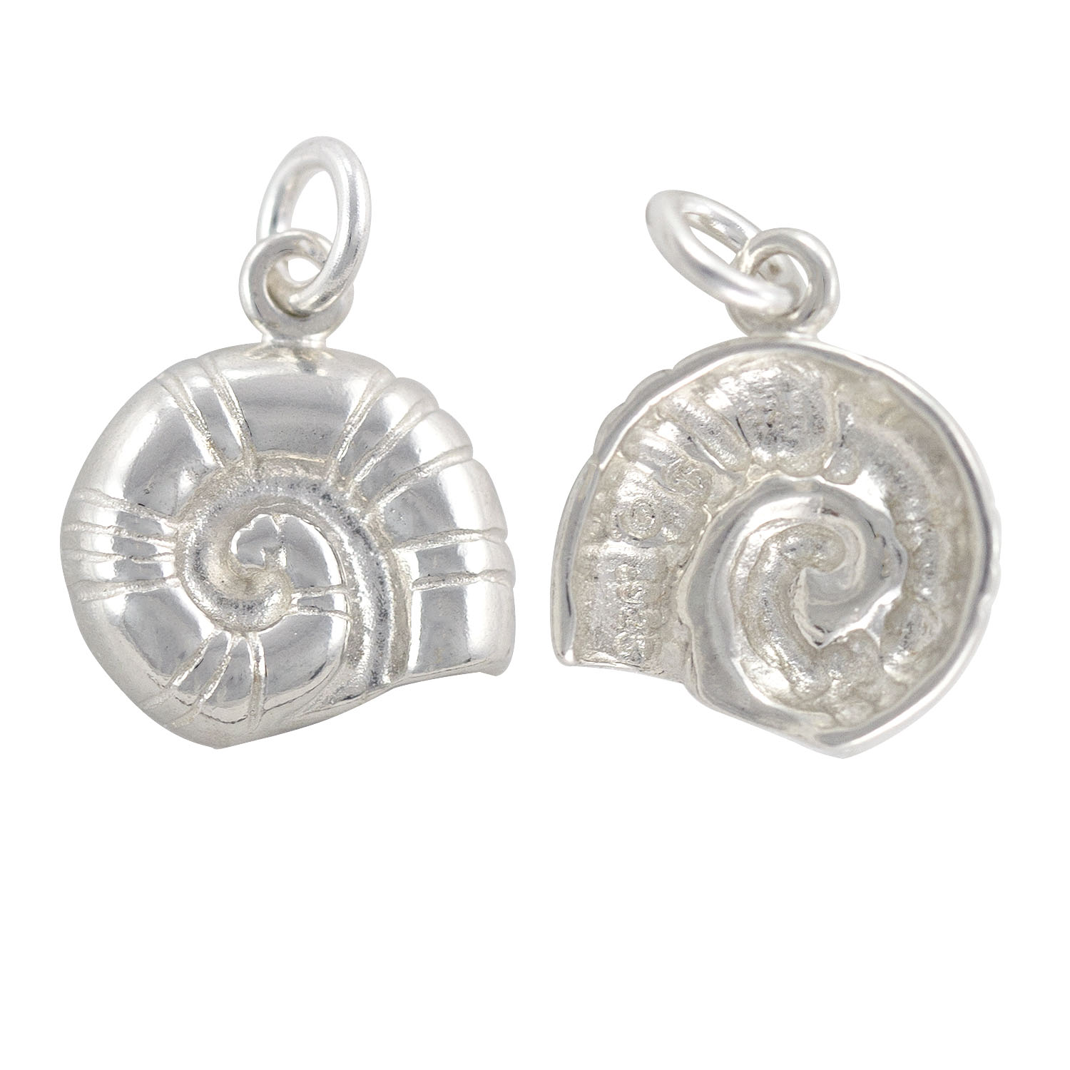 Sterling Silver Nautilus Shell Charm 14x12 5mm Jewelry Charms Wholesale Cheap Only At Jewelrysupply Com