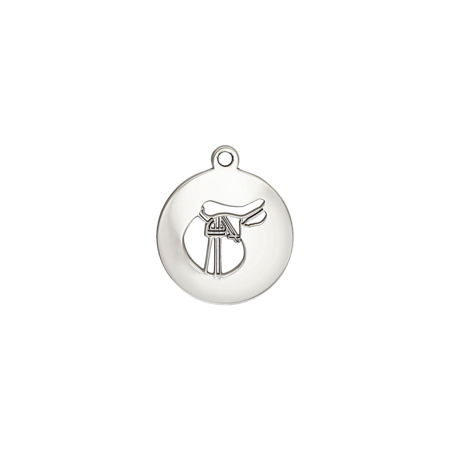TheCharmWorks Sterling Silver Saddle Charm