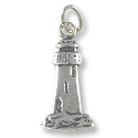 Light House Charm 18x8mm Sterling Silver (1-Pc)