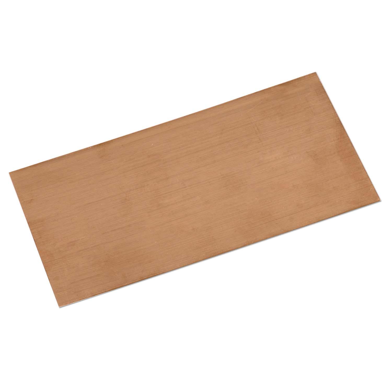 copper sheet 22 gauge size 6x3 inch jewelry sheet metal
