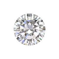 8mm Round Cubic Zirconia (1-Pc)