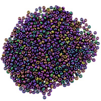 Preciosa Czech Seed Beads 11/0 Purple Iris (10 Grams)