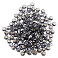 Preciosa Czech Seed Bead 6/0 Silver Lined Black Diamond (10 Grams)