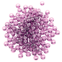 Preciosa Czech Seed Bead 6/0 Transparent Amethyst (10 Grams)