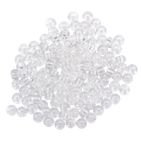 Preciosa Czech Seed Bead 6/0 Transparent Crystal (10 Grams)