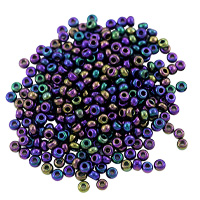 Preciosa Czech Seed Beads 8/0 Purple Iris (10 Grams)