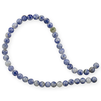 Denim Lapis Round Beads 4mm (15