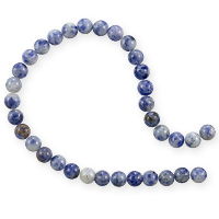 Denim Lapis Round Beads 6mm (15
