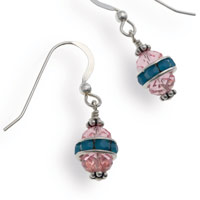 Swarovski Easter Egg Earrings
