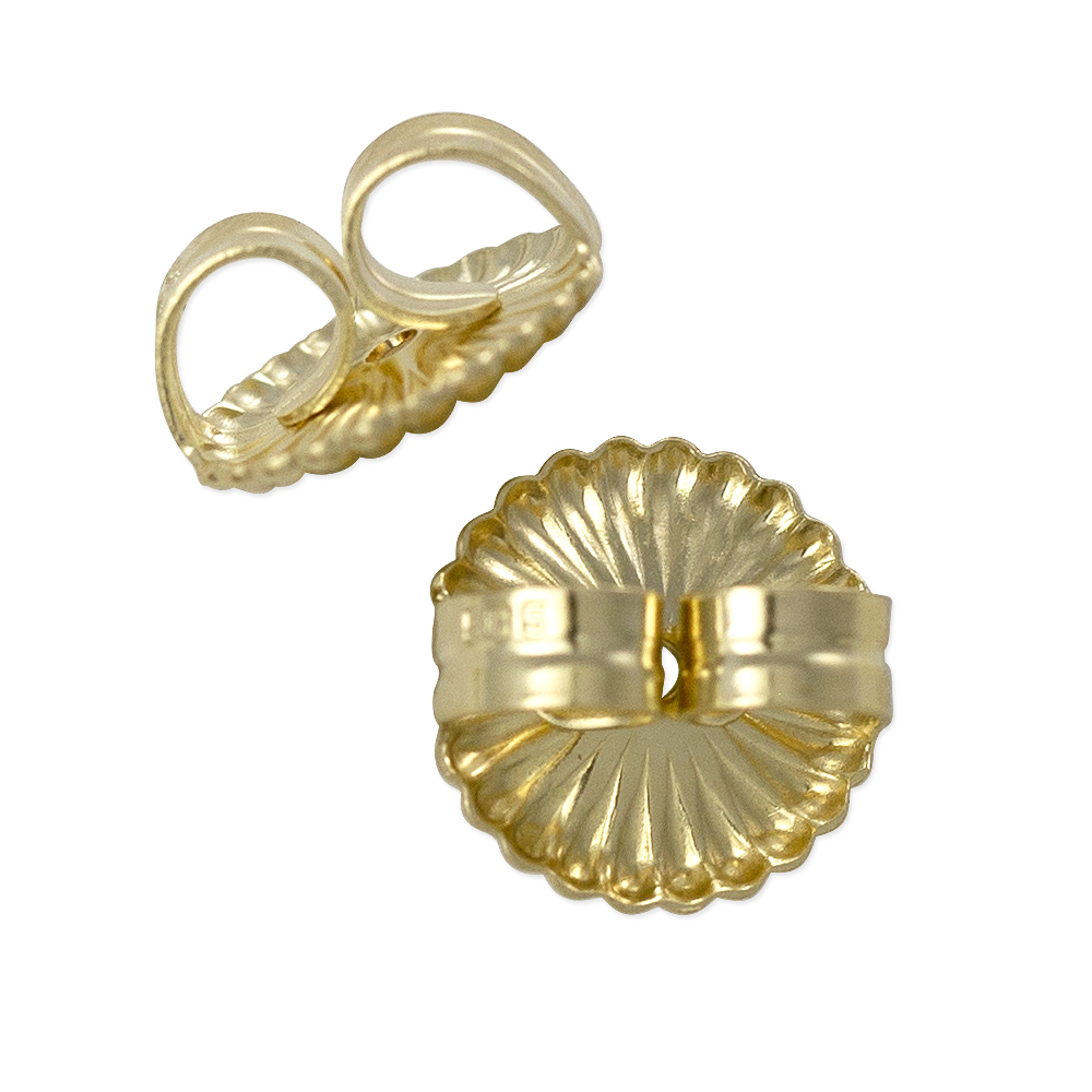 Ear Back Extra Heavy 14k Yellow Gold 14k Extra Heavy Ear Nut