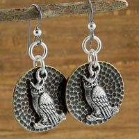 TierraCast Hoot Hoot Earrings Quick Kit