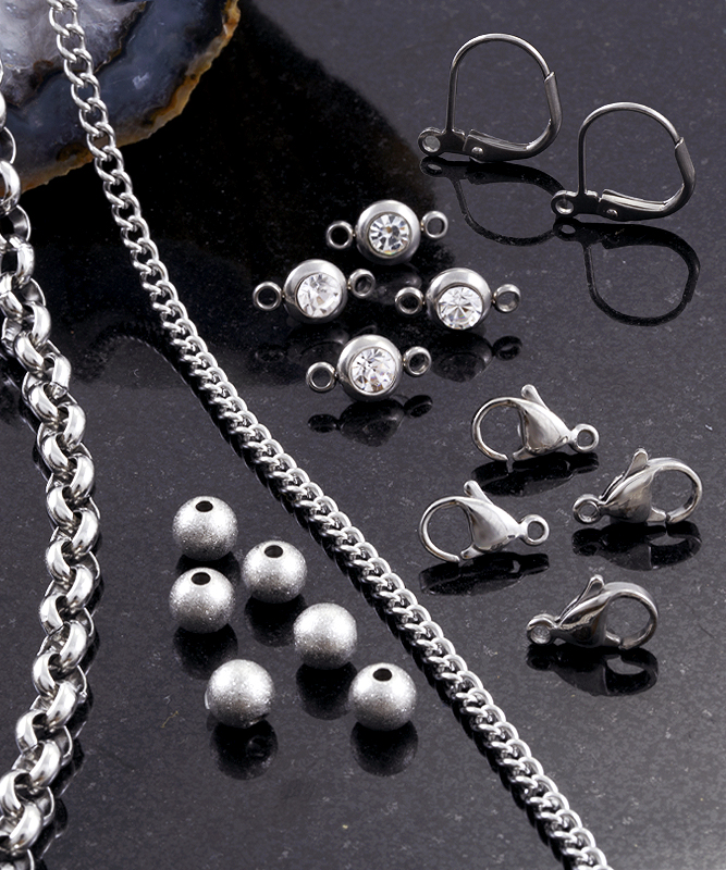 Surgical Stainless Steel Jewelry Findings