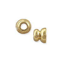 Bead Cap 3x3.5mm Gold Plated (2-Pcs)