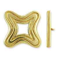 Toggle Clasp 22mm Brass (Set)