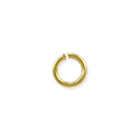 Open Round Jump Ring 4.5mm Gold Plated (100-Pcs)