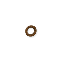 Closed Round Jump Ring 3.5mm Antique Copper Plated (10-Pcs)