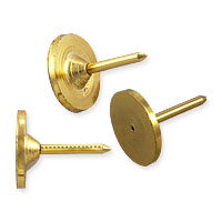Tie Tack/Scatter Pin 11.5x10mm Gold Plated (10-Pcs)