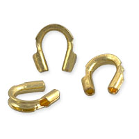 Wire Guard 4x1mm Gold Color (10-Pcs)