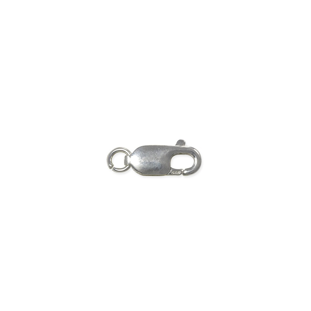 Jewelry Attachments Closure 16x8 MM Silver Lobster Clasp Jewelry Findings
