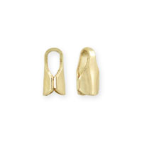 Chain End Cap 6x3mm Gold Filled (1-Pc)