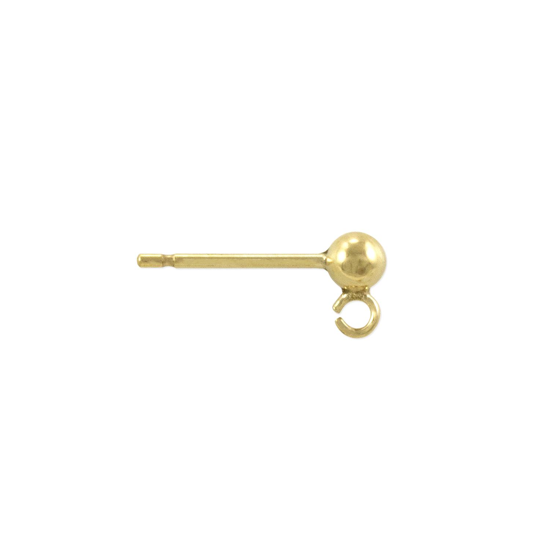 gold Earring Stud Earring Stud Earing Post Earring findings earring charms gold Earing Post Jewelry Supplies