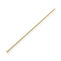 Head Pin 1 Inch 24ga Gold Filled (1-Pc)