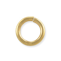 Open Round Twist Lock Jump Ring 10mm Gold Filled (1-Pc)