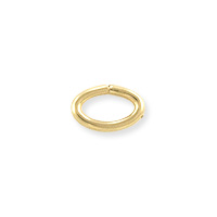 Open Oval Jump Ring 4.6x3mm Gold Filled (4-Pcs)