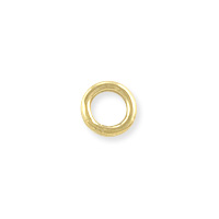 Closed Round Jump Ring 4mm Gold Filled (2-Pcs)