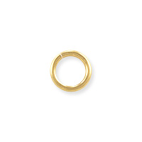 Open Round Jump Ring 5mm Gold Filled (4-Pcs)