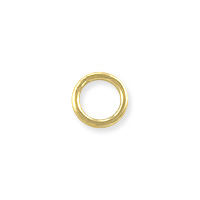Closed Round Jump Ring 5mm Gold Filled (2-Pcs)