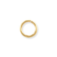 Open Round Jump Ring 6mm Gold Filled (2-Pcs)
