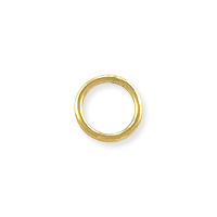 Closed Round Jump Ring 6mm Gold Filled (2-Pcs)