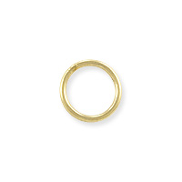Closed Round Jump Ring 7mm Gold Filled (1-Pc)
