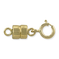 Magnetic Clasp Converter 10x4mm with 5mm Spring Ring Gold Filled (1-Pc)