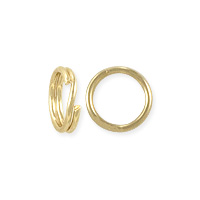 Split Ring 4.5mm Gold Filled (1-Pc)