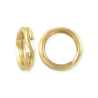 Split Ring 6mm Gold Filled (1-Pc)
