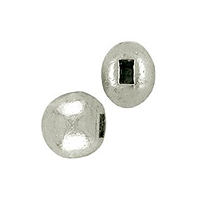 Flat Memory Wire End Cap 5x4mm Silver Plated (10-Pcs)