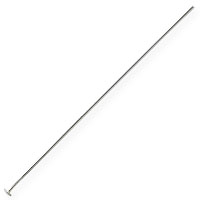 Sterling Silver 2 Inch Head Pin 22 Gauge (1-Pc)