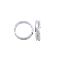 Split Ring 6mm Sterling Silver (1-Pc)