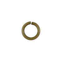 Open Round Jump Ring 5.5mm Antique Brass Plated (100-Pcs)