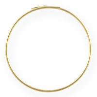 Gold Filled Beading Hoops 1